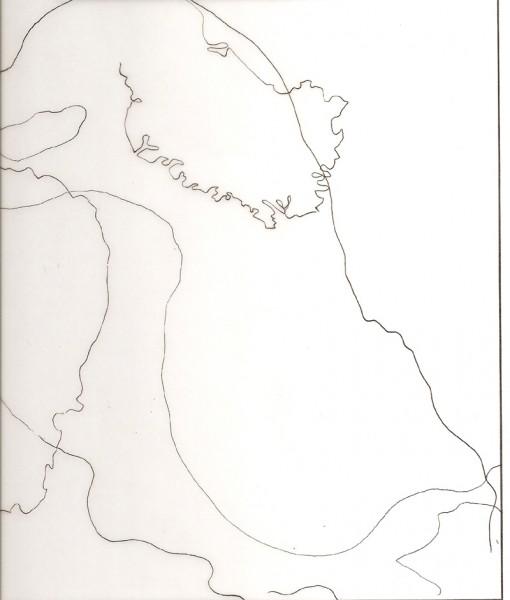 Zeichnung, 34 x 21 cm